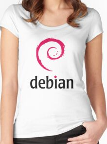 Debian Women's Fitted Scoop T-Shirt
