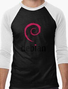 Debian Men's Baseball ¾ T-Shirt