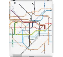 London Underground Pixel Map iPad Case/Skin