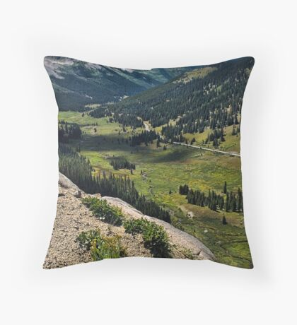 Independence Pass Overlook Throw Pillow