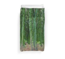 Sleeping under the trees Duvet Cover