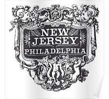 Vintage New Jersey Poster