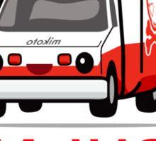 mikoto's Ambulance Sticker