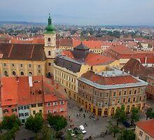 Sibiu - Hermannstadt. European Capital of Culture in 2007 by GabiB