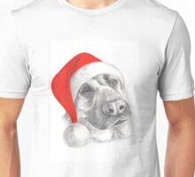 German Shepherd Santa Unisex T-Shirt