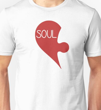Soulmate Valentine's Day Love Heart Unisex T-Shirt