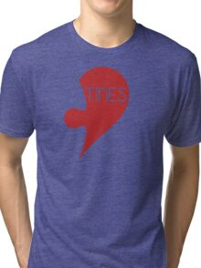 Valetine Valentine's Day Love Heart Tri-blend T-Shirt
