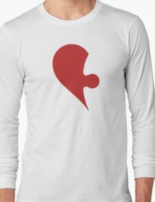 Puzzle Pieces Love Heart Long Sleeve T-Shirt
