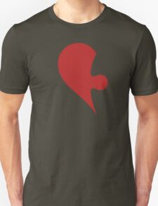 Puzzle Pieces Love Heart Unisex T-Shirt