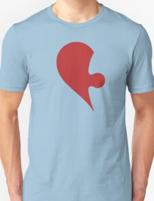 Puzzle Pieces Love Heart T-Shirt