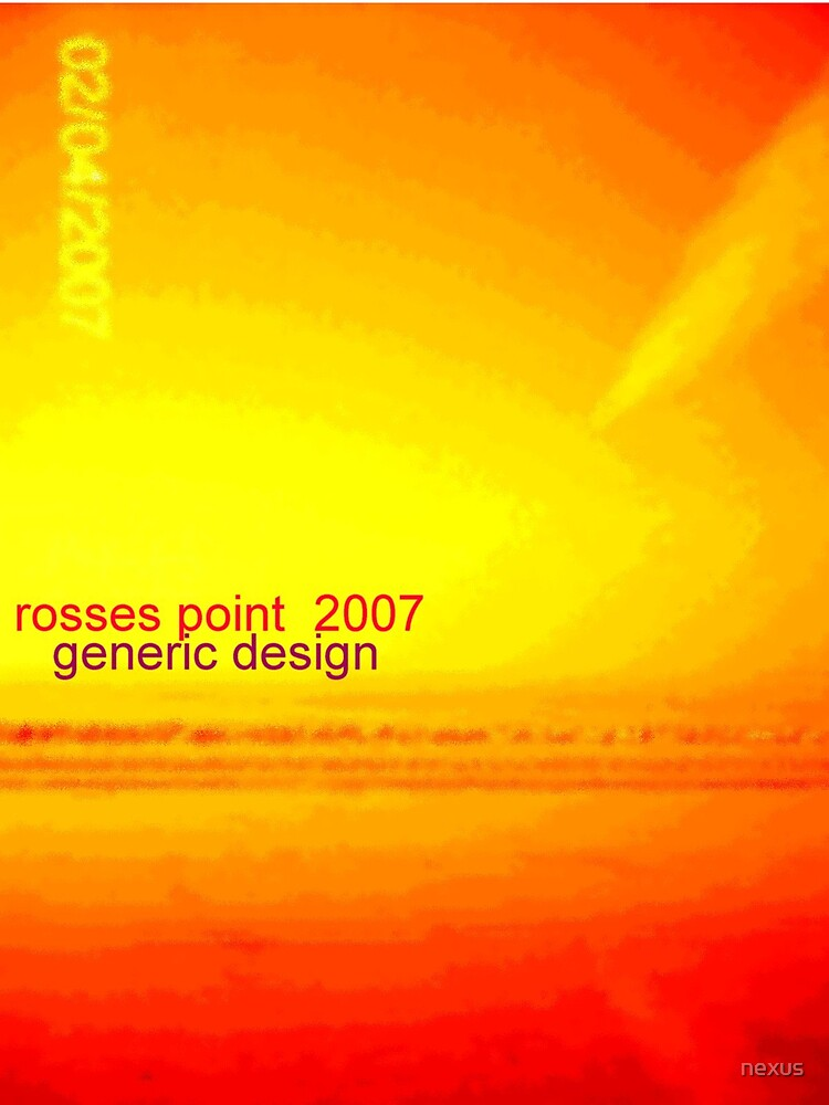rosses point 2007 by nexus