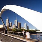 Southgate Footbridge, Melbourne by AustralianImagery