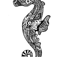 Seahorse by Georgia Fearnley