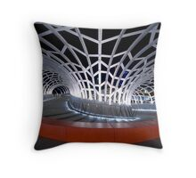 Webb Bridge, Melbourne Throw Pillow