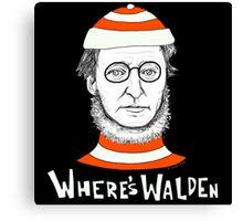 Where's Walden Canvas Print