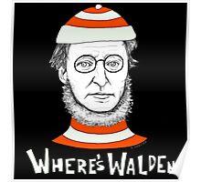 Where's Walden Poster