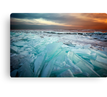 Ice Flow II - Lake Superior Canvas Print