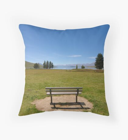 Tranquil Seat Throw Pillow