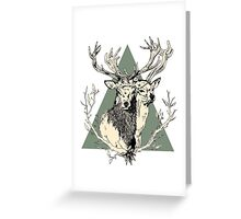 Bucks Greeting Card