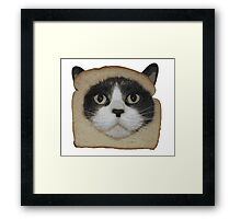 Breaded Inbread Cat Breading Framed Print