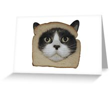 Breaded Inbread Cat Breading Greeting Card