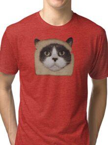 Breaded Inbread Cat Breading Tri-blend T-Shirt