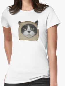 Breaded Inbread Cat Breading Womens Fitted T-Shirt
