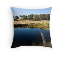 Bush Reflection Throw Pillow