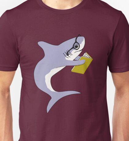 Reading Shark Unisex T-Shirt