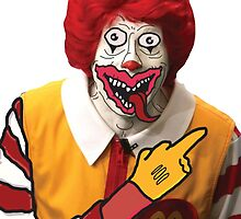 Rude Ronald McDonald by TwistedTV