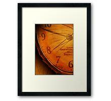 RINGS OF TIME Framed Print