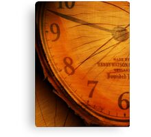 RINGS OF TIME Canvas Print