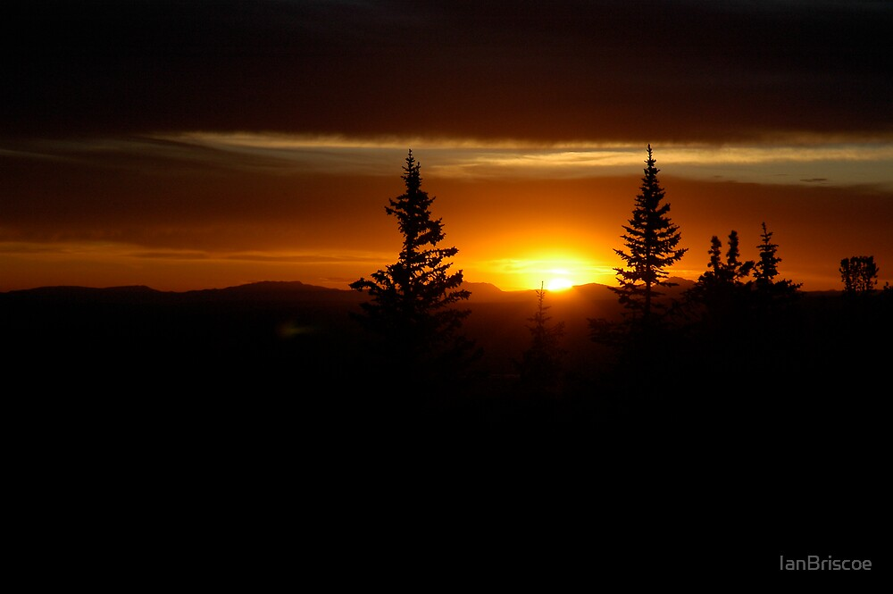 Fire Tower Sunset by IanBriscoe