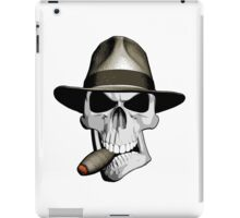 Skull Smoking Cigar iPad Case/Skin