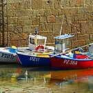 Mousehole Harbour 1 by George Crawford