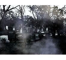 haunted graves Photographic Print