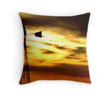Desert Sunset Throw Pillow