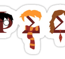 Phi Sigma Sigma Harry Potter Sticker