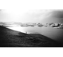 Iceland Ice III Photographic Print