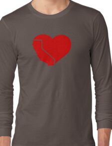 I Love California Heart Long Sleeve T-Shirt