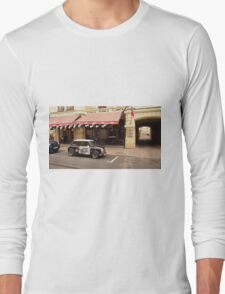 Mini Cooper near pub. Long Sleeve T-Shirt