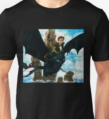 Toothless watercolor/ Desdentao acuarela Unisex T-Shirt