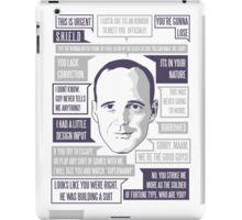 Agent  iPad Case/Skin