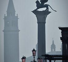 Leone Alato di San Marco by Michael Carter
