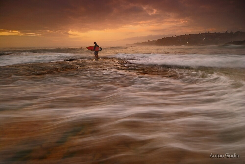 Wave Walking by Anton Gorlin
