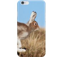Running Mountain Hare iPhone Case/Skin
