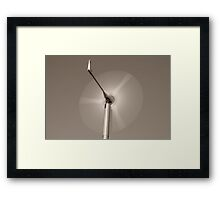 Wind Power Framed Print