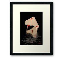 Torn Apart Framed Print