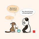 Half Philosophical by Panda And Polar Bear