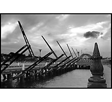Pyrmont Waterside Sculptures, Sydney Photographic Print